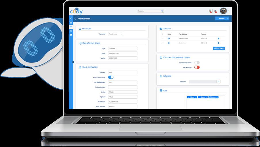 c0dy | Modulové řešení pro správu firemních procesů
